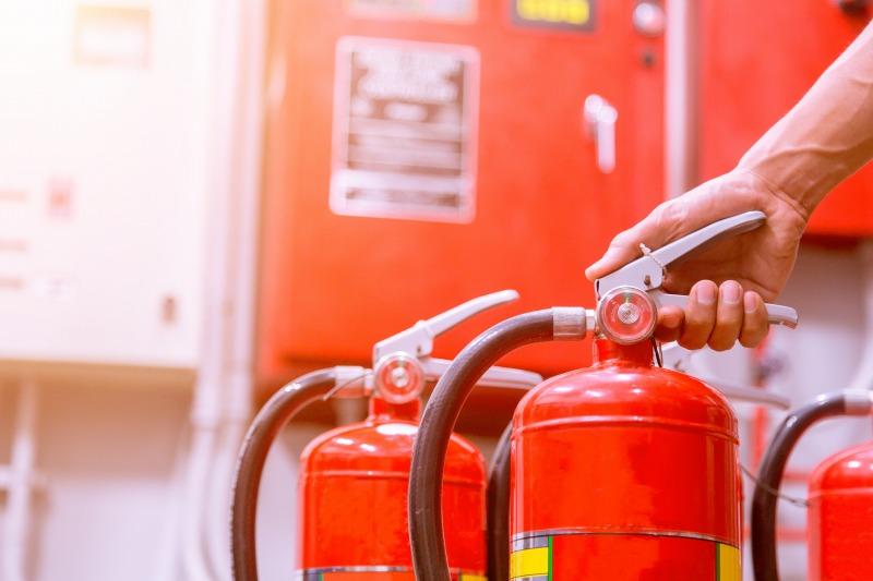 消火器の使用について